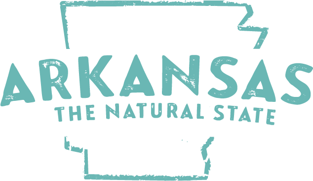 Arkansas: The Natural State Logo