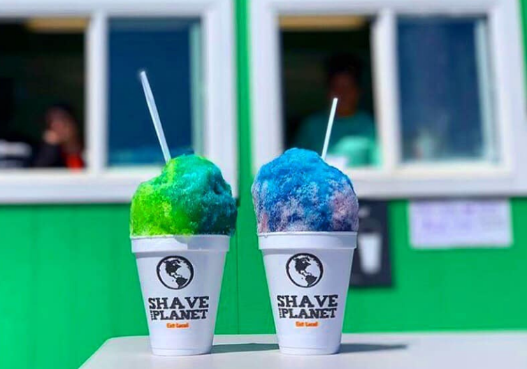 Shave the Planet Shaved Ice