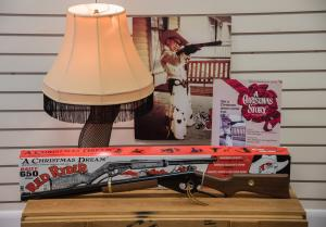 Daisy Airgun Museum is home to the Official Red Ryder Carbine-Action Two-Hundred-Shot Range Model Air Rifle. Don't shoot you're eye out when you come visit this Christmas Story classic.