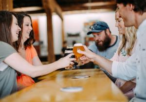 Ozark Brewery is a local craft beer company located a few blocks from downtown. Enjoy a few beers, or book an event at the brewery!