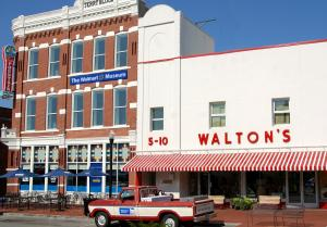 Walmart was founded and is headquartered in Northwest Arkansas. You can explore the 5 & 10 museum and learn about one of the largest global companies