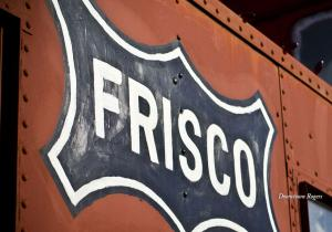 Historical Frisco Park celebrates the colorful transportation history of Rogers from Butterfield Stage Coach Line through Frisco Railroad and is located in the heart of downtown Rogers