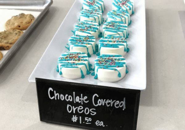 Chocolate Covered Oreos - Alexander Baking Company in Downtown Rogers
