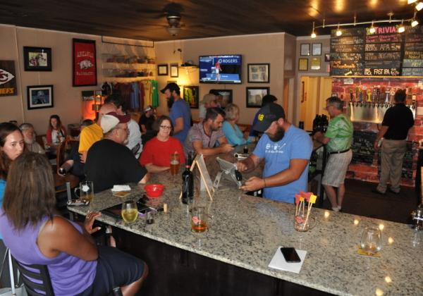 Brick Street Brews in Rogers AR - Indulge in a wide variety of regional craft beers in historic downtown Rogers.