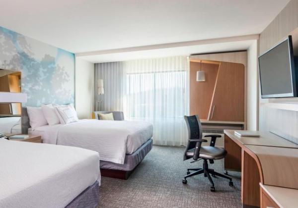 Standard Two Queen Guestroom - Courtyard by Marriott Rogers AR