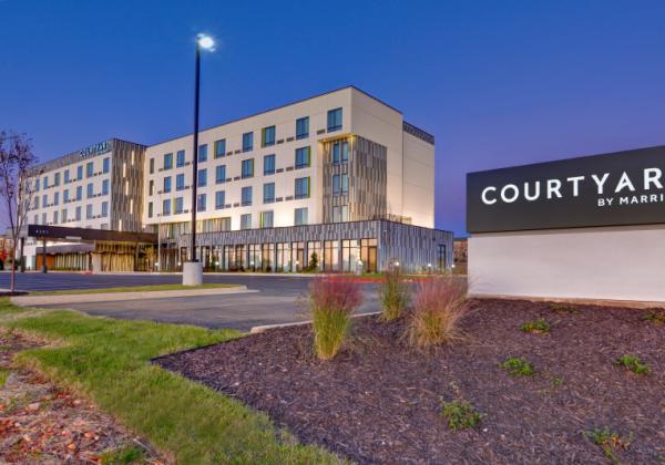 Courtyard Exterior - Courtyard by Marriott in Rogers AR