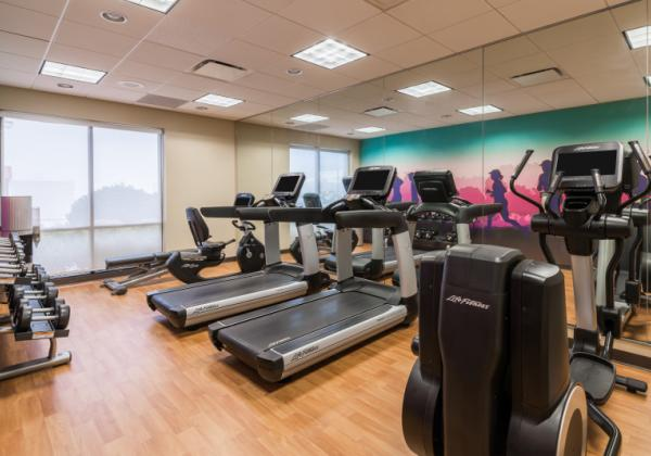 24/7 Fitness Center - Fitness Center open 24/7 on property. Newly renovated with new equipment.