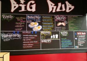 Big Rub Urban Eatery in Rogers AR - Big Rub serves up phenomenal tacos and fantastic BBQ including their always tender brisket.