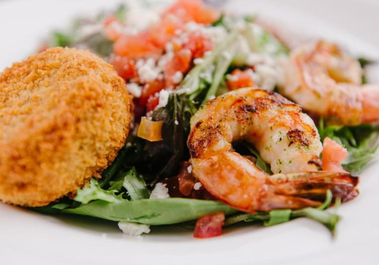 Crabby's has some of the best seafood in town, including their salads, entrees, appetizers and deserts.
