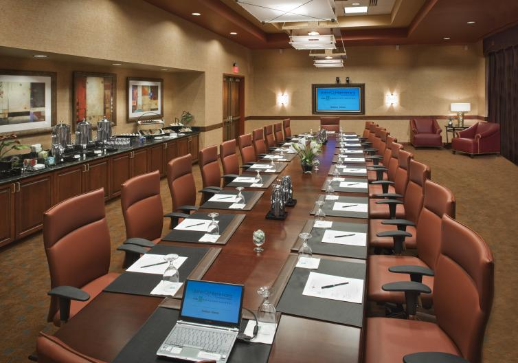 Embassy Suites in Rogers is perfect place for your next meeting, with plenty of room for a small board or staff meeting, or a larger company meeting or convention