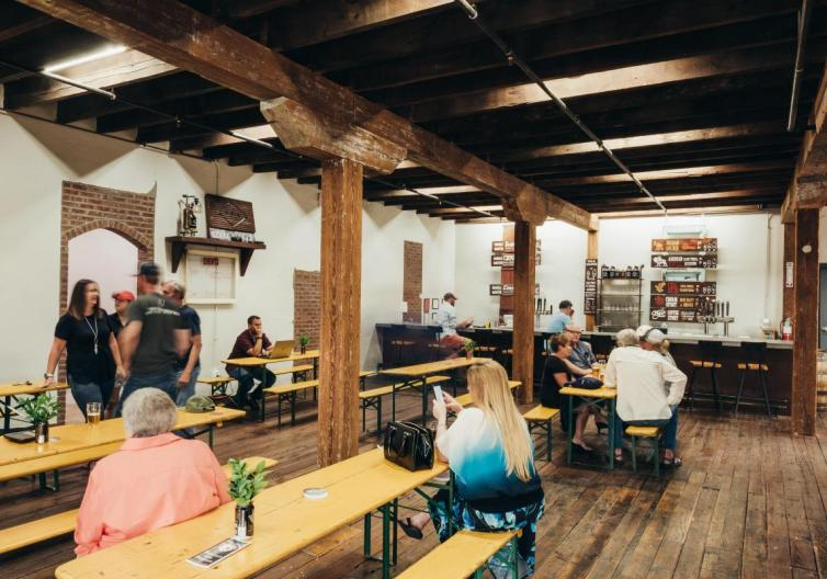 Ozark Beer Company is a local craft beer company located a few blocks from downtown. Enjoy a few beers, or book an event at the brewery!
