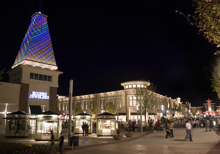 Pinnacle Hills Promenade is a retail lifestyle center in Rogers, Arkansas featuring Cabela's, Dillard's, J. C. Penney, Target, and Best Buy, and a Malco Theatres