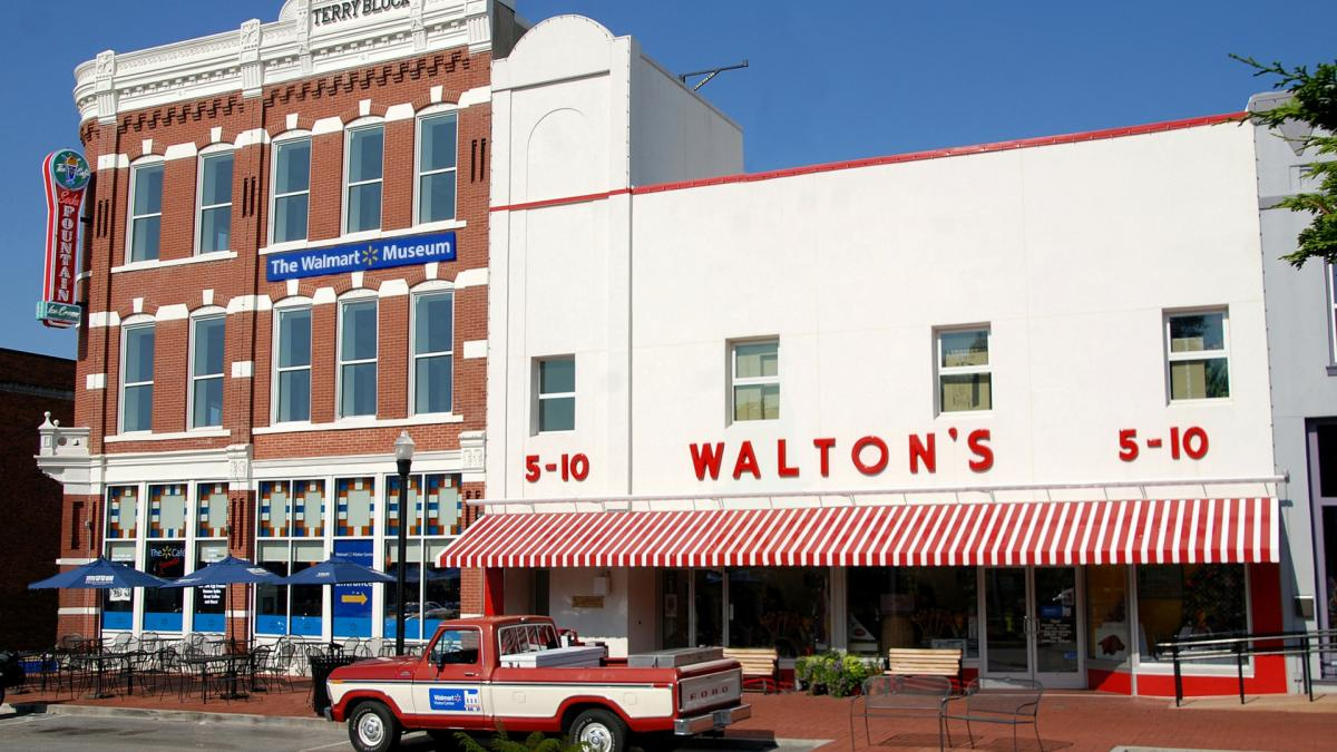 Walton's original store the 5-10 in Bentonville
