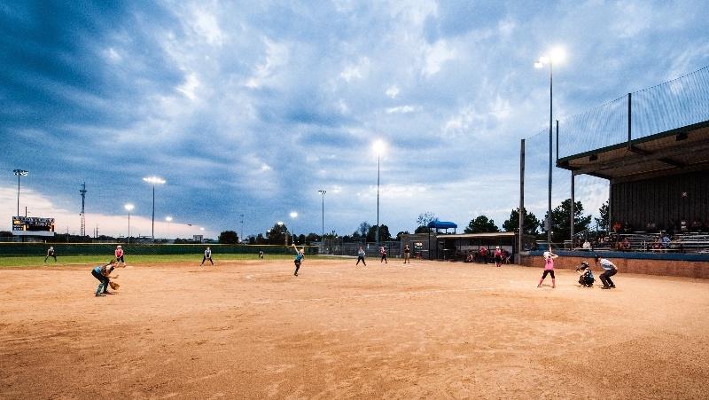 Tournament Ready Ball Fields Visit Rogers Arkansas