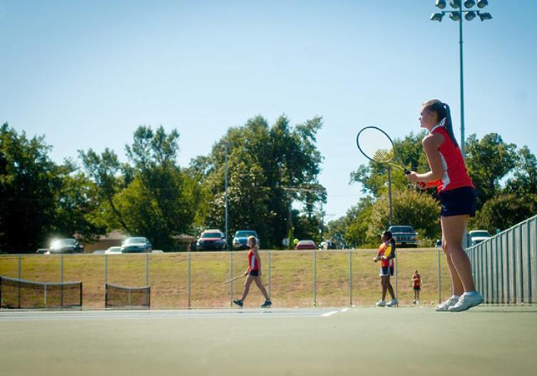 Rogers has state of the art sports facilities, including public and private tennis courts