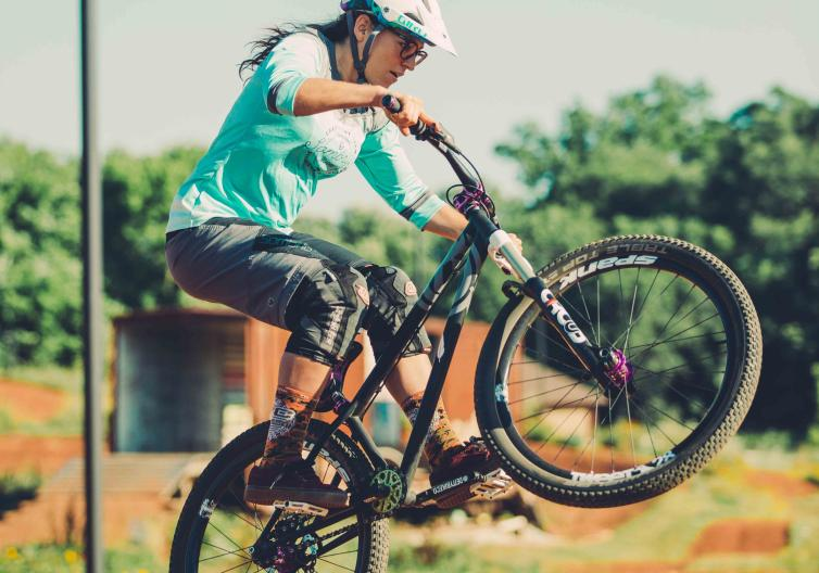 The Railyard is a natural surface bike park for riders of any skill level to enjoy. Explore a paved trail to Lake Atalanta or shoot off-road onto natural trails connecting to Lake Atalanta or Pleasant Ridge trails.
